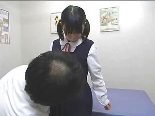 Japanese schoolgirl (18+) special medical exam