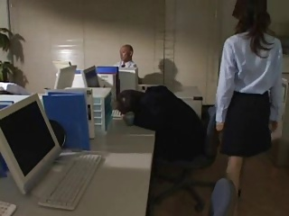 dominant japanese office lady - uncensored