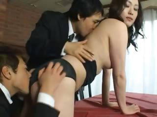 Unique Japanese slut undressed